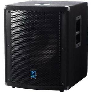 "LS720P 15"" Elite Series Powered Subwoofer from Yorkville - used"