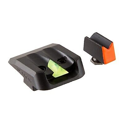 Delta 1 Sights for Glock Pistols, with photo-luminescent Rear and Front Sight
