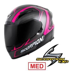 NEW SCORPION MOTORCYCLE HELMET MED - 127591281 - WOMEN STREET RACING EXO-R2000