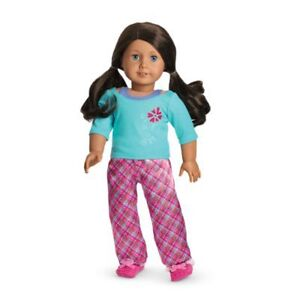 American Girl Doll Clothes- Petals and Plaid PJs (Retired)