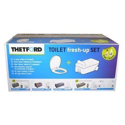 Thetford C234 Left Fitting Toilet Cassette Waste Tank Fresh Up Kit C2 C3 C4