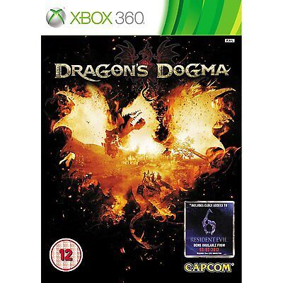 Xbox 360 Spiel Dragon's Dragons Dogma Neu