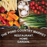 PRIVATE DINNER PARTY AT THE POND COUNTRY MARKET!