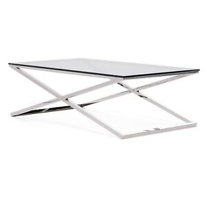 MOBILIA GLASS  WELSH COFFEE TABLE
