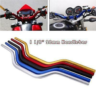 Multi Color CNC  Handlebar Fat Bar MX 1 1/8'' 28mm For KTM CRF YZF KXF Dirt Bike 1 1/8' Fat Bar Handlebar