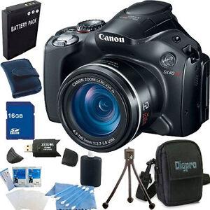 Canon-PowerShot-SX40-HS-35x-Zoom-12-1-MP-Digital-Camera-16GB-Super-Bundle