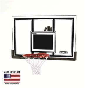 "High end Basketball backboard and rim (54"")"