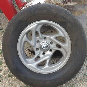 6 Bolt American Racing Rims with Toyo Proxies ST