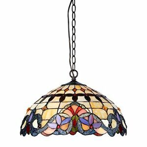 NEW Tiffany Victorian Ceiling Pendant