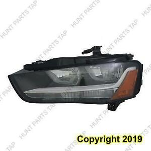 Head Light Driver Side Sedan/Wagon Halogen [From 5/31/2012 To 2016] High Quality Audi A4