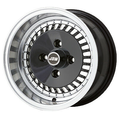"""7.0 x 13"""" JBW OS4 Turbo Classic Mini Alloy Wheels - Tyre Options Available (x4)"""