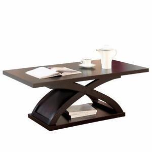 Gnarls Coffee Table by Hokku Designs NEW