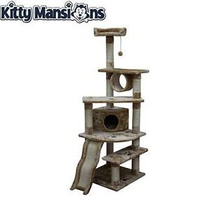 NEW KITTY MANSIONS 71'' CAT TREE SHANGHAI 111856996