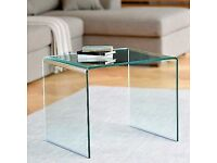 Dwell Pure Glass Side/ Coffee Table