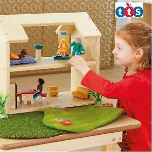 NEW TTS WOODEN DOLL HOUSE EY07546 243831061