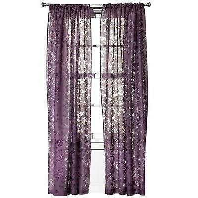 purple plum curtains ebay