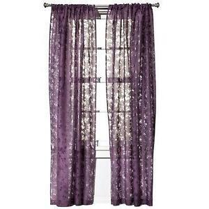 Geometric Grommet Curtain Panels
