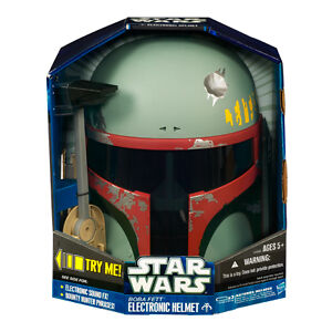 New Hasbro Star Wars Boba Fett Electronic Helmet