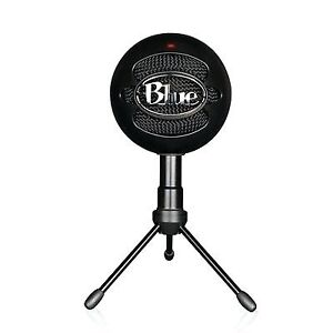 Snow ball blue microphone with cable
