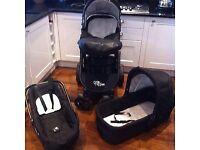 Kiddicare 3 in 1 Travel System