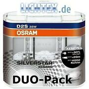 OSRAM Silverstar D2S