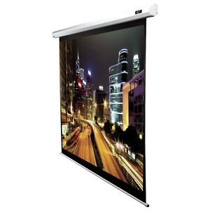 100 inch Spectrum2 White Electric Projection Screen