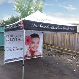 Outlet Tags Custom Canopy Tent Packages ONLY $599.99 Gatineau Ottawa / Gatineau Area image 7