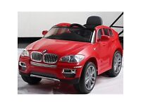 Kids Red, Electric BMW X6 Car