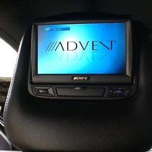 Custom head rests dvd for ford f150 in BROOKS