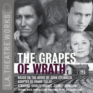 The-Grapes-of-Wrath-Library-Edition-Audio-CDs-L-A-Theatre-Works-A-Ex-library