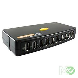 VANTEC 10 PORT USB 2.0 HUB HI SPEED USED AND WORKING
