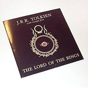 Lord of The Rings Audio Book
