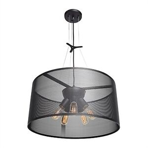NEW IAccess Lighting 5092 Epic Five Light Round Ceiling Pendant