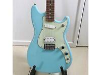 Fender Duo Sonic in Daphne Blue With Limited Edition Pau Ferro Fretboard