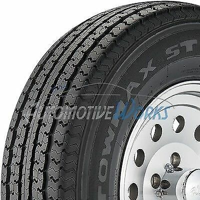 ST205/75-15 Towmax STR II 8 Ply D Load Radial Trailer Tires 2057515 2 New