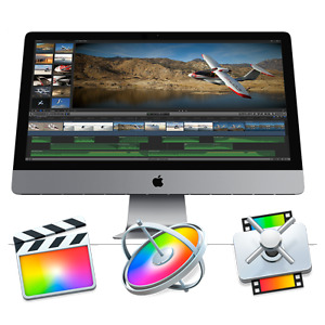 Apple Mac Final Cut Pro, Motion and Compressor Software
