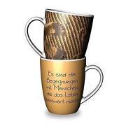 Tasse mit Spruch