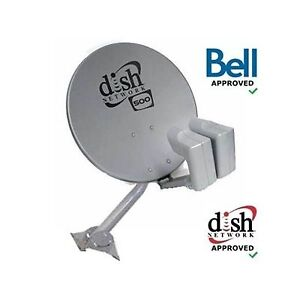 Shaw or bell hd satellite dish