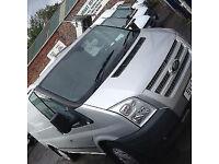 Ford Transit 2.2TDCi ( 100PS ) ( EU5 )Low Roof 280 MWB Van Silver Trend 92 k Fsh