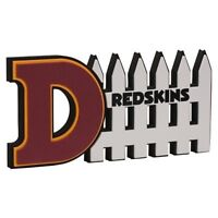 Washington Redskins 3D Foam Defense Sign With Hand Strap (New)