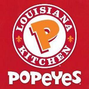 Manager Popeyes Louisiana Kitchen