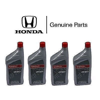 4x Genuine Honda Acura ATF DW-1 Automatic Transmission Oil Fluid Accord Civic  Acura Legend Automatic Transmission