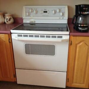 Whirlpool glass top range - Clarenville area
