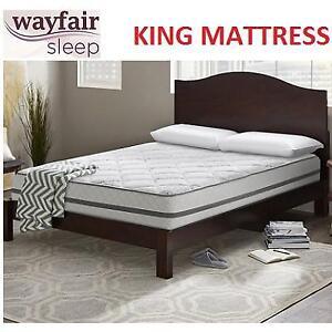 NEW WAYFAIR SLEEP 12'' KING MATTRES - 134036109 - PLUSH INNERSPRING