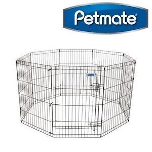 NEW PETMATE PET EXERCISE PEN 36'' HIGH - SINGLE DOOR - SAFE PLAY 106296204