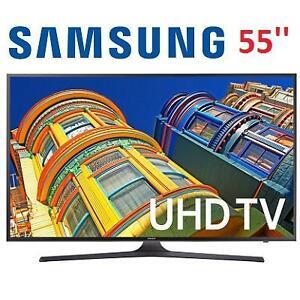 NEW OB SAMSUNG 55'' 4K SMART LED TV - 119426705 - UN55KU6300F