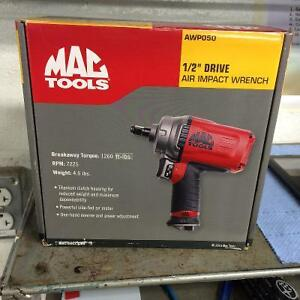 Impact mag tools 1/2 (1 year waranty) drive almost brand new