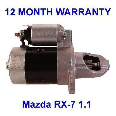 Mazda RX-7 1.1 starter motor 1984 1985 1986 coupe