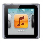 Apple iPod Nano 6th Generation Graphite New