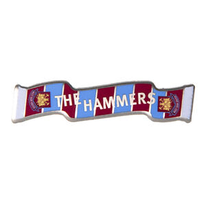 WEST HAM UNITED FC ENAMEL PIN BADGE ASSORTED DESIGNS HAMMERS COME ON YOU IRONS